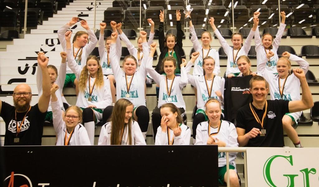 Tytöt-04 Stadium Cupissa