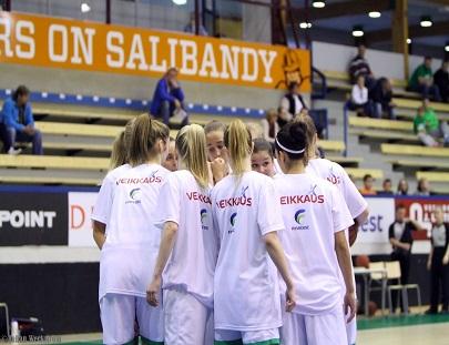 Naisten joukkueen syyskausi päättyy lauantaina Tapiolassa