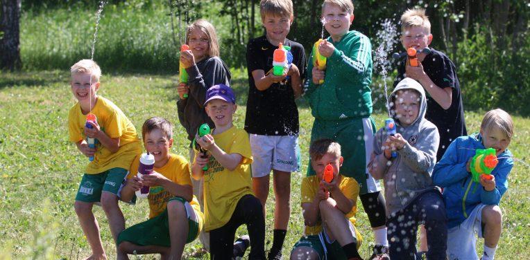 Junioreiden kesä alkoi perinteisellä Summer Campillä