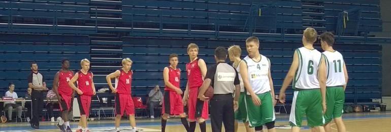 A-poikien SM-karsintoja pelattiin kotihallin lisäksi Lahdessa 26.-27.9.15