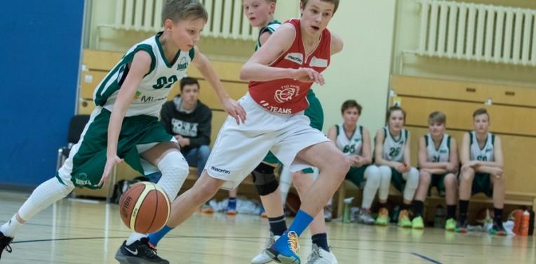 C-poikien tammikuun turnaukset BBB-liigassa Virossa