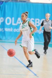 Sara Bejedi kuuluu Hongan A-tyttöjen avainpelaajiin.
