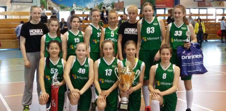 CII-tytöt Varsovassa, Puolassa