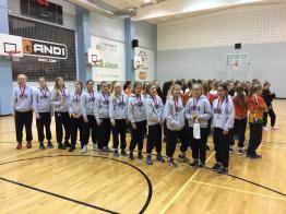 C-tytöt kymmenen ottelun voittoputkessa EGBL:ssä