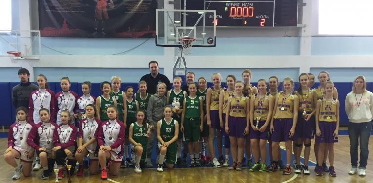 C-tytöt 2 turnausmatkalla Pietarissa