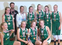 C-tytöt menestyksekkäitä Tallink-turnauksessa