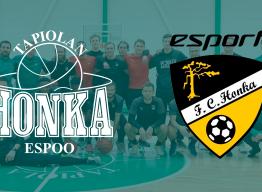 Palloilulajien välistä yhteistyötä Tapiolan urheilupuistossa