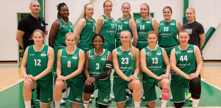 FootBalancesta Tapiolan Hongan naisten Korisliiga-joukkueen pääyhteistyökumppani