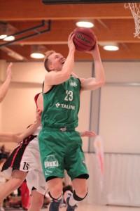 Anselmi Vanjoki oli yksi Hongan avainpelaajista perjantain voitossa. Kuva: Sonja Herrala.