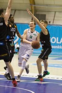 Jouko Järvinen oli jälleen Hongan paras pelaaja.