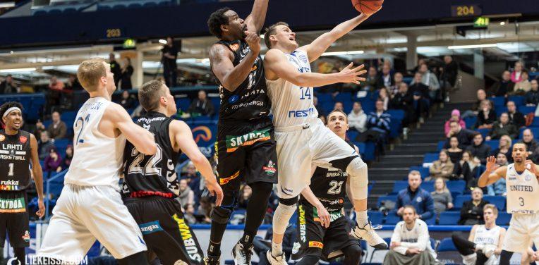 Espoo United ja Lahti Basketball aloittavat taistelun liiganoususta