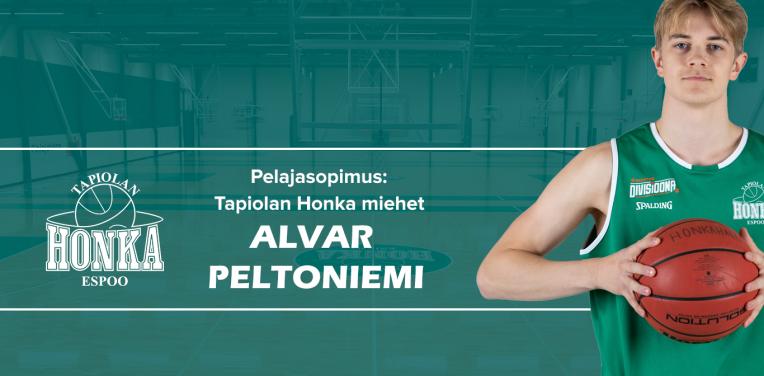 Alvar Peltoniemi solmi jatkosopimuksen Hongan kanssa – edessä kausi divari A:ssa