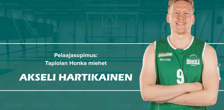 """Akseli Hartikainen palaa Espooseen: """"Odotan mielenkiintoista ja nousujohteista kautta"""""""