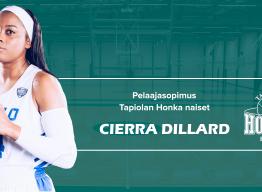 Cierra Dillard vahvistaa alkavalla kaudella Hongan naisten takakenttää