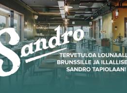 Sandro Tapiola Hongan yhteistyökumppaniksi – tutustu ja koe makumatka aivan naapurissa