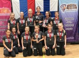 Hongan 05-tytöt voitokkaita ensimmäisessä EGBL:n U13-turnauksessa