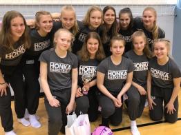 14-vuotiaiden tyttöjen kausi pakettiin EGBL-Superfinaaleissa