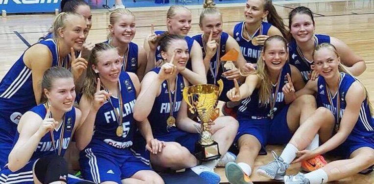 Espoo United: Tuoreille nuorten koripallon Pohjoismaiden mestareille pelaajasopimukset Espoo Unitediin