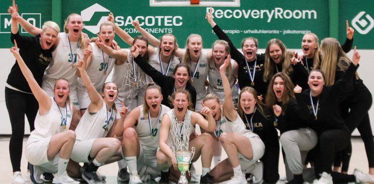 19-vuotiaat tytöt Suomen mestaruuteen, 19-vuotiaat pojat SM-pronssille