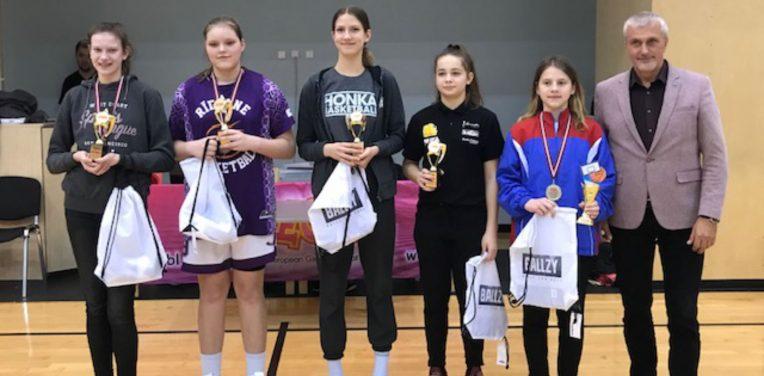 Hongan 14-vuotiaat tytöt EGBL-Superfinaaleihin