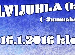 SYNTTÄRIBILEET SUMMAHALLILLA 16.1.2016